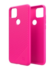 Image of GoTo Fine Swell 45 Case for T-Mobile REVVL 4+ - Magenta which is having color variants