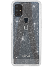 Image of GoTo Define Sparkle Case for OnePlus Nord N10 5G - Clear Sparkle which is not having color variants