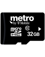 Image of 32GB microSD Memory Card which is not having color variants