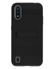 Image of Samsung A01 KICK- Black which is having color variants