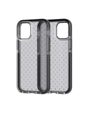 Image of Tech21 Evo Check Case for Apple iPhone 12 mini - Smokey/Black which is having color variants