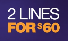 Two Lines for $60 with MetroPCS