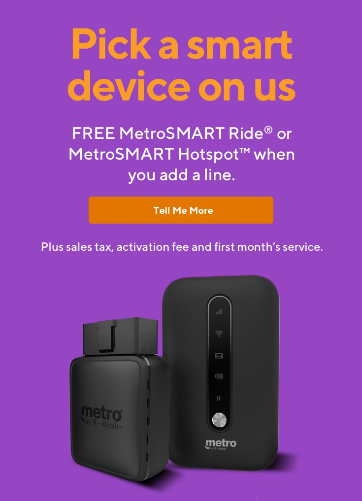 Metro® by T-Mobile | Nationwide 4G LTE, No Contract, Cell Phone