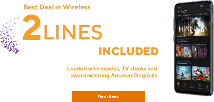 Get 2 Unlimited Lines for $80 - plus Amazon Prime | Metro® by T-Mobile