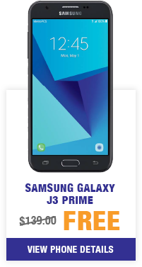 Samsung Galaxy J3 Prime from MetroPCS
