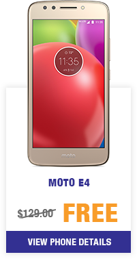 moto e4 from MetroPCS