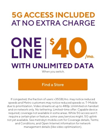 Prepaid Phone Plan Deals 50 Off For 2 Mo Metro By T Mobile