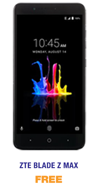 Blade Z Max free from MetroPCS