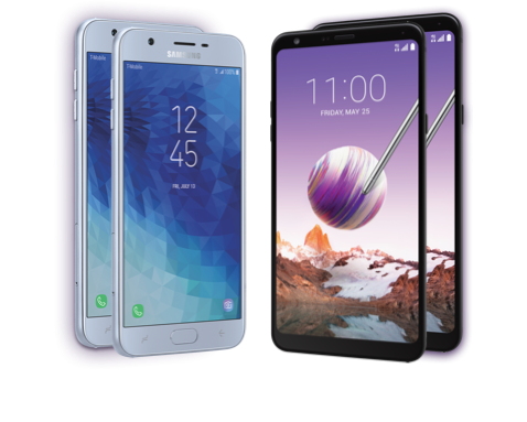 Samsung Galaxy J7 Star and LG Stylo 4 from Metro by T-Mobile