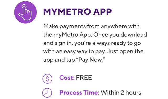 Metro Bill Payment Options Online Free More Metro By T Mobile