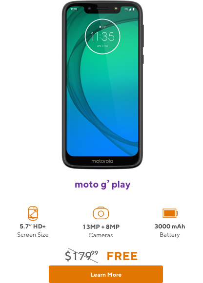 moto g7 play from Metro by T-Mobile