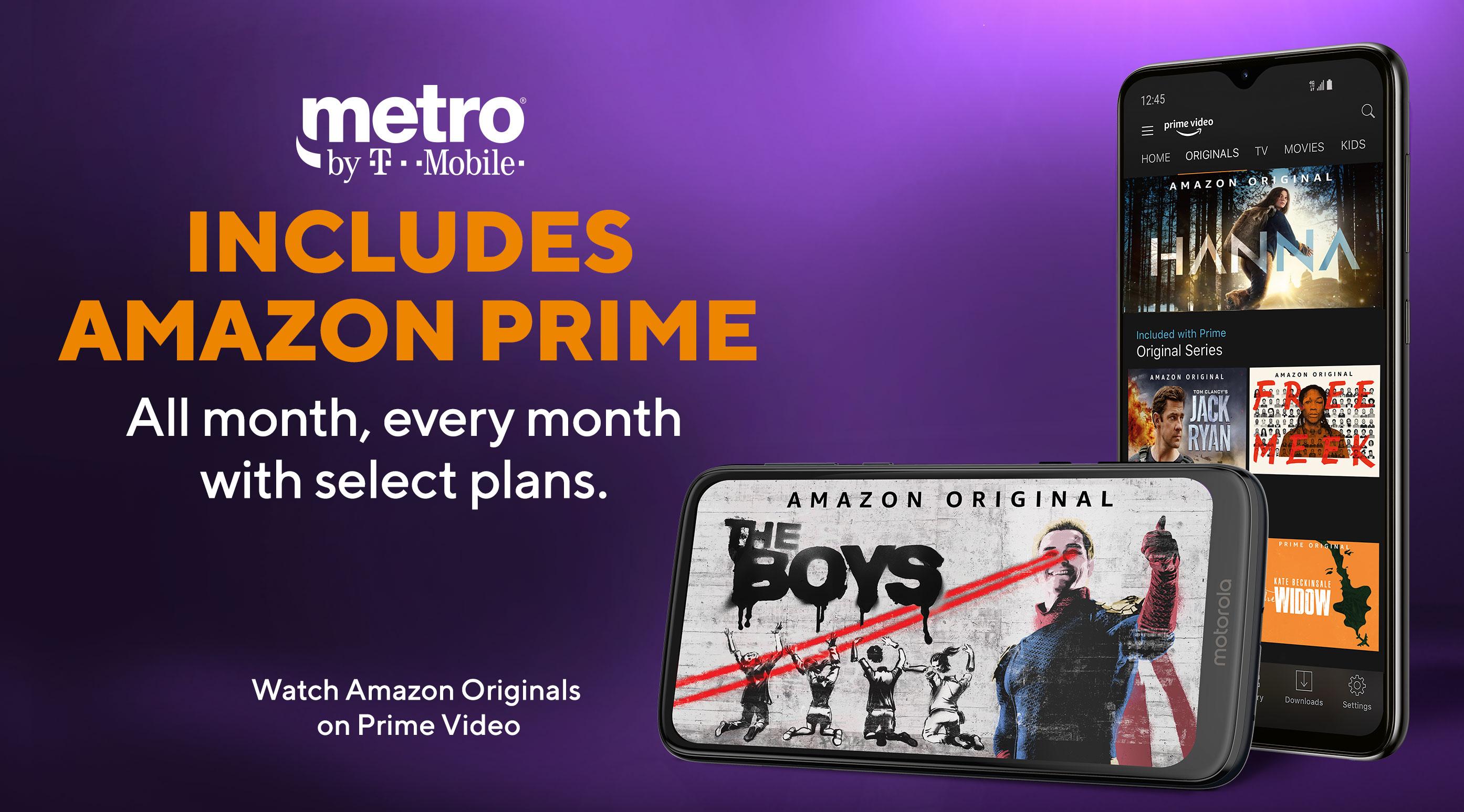 dessins attrayants rechercher le meilleur amazon Amazon Prime - Movies, Music & Free Shipping | Metro® by T ...