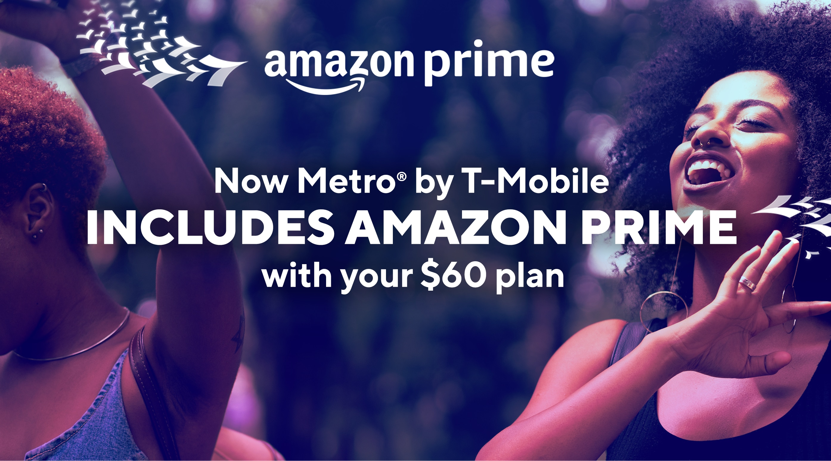 e2e50071ea4789 Amazon Prime. Now at Metro by T-Mobile includes Amazon Prime with your $60