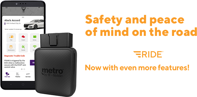 MetroSMART Ride! Security and peace of mind begin with MetroSMART Ride!