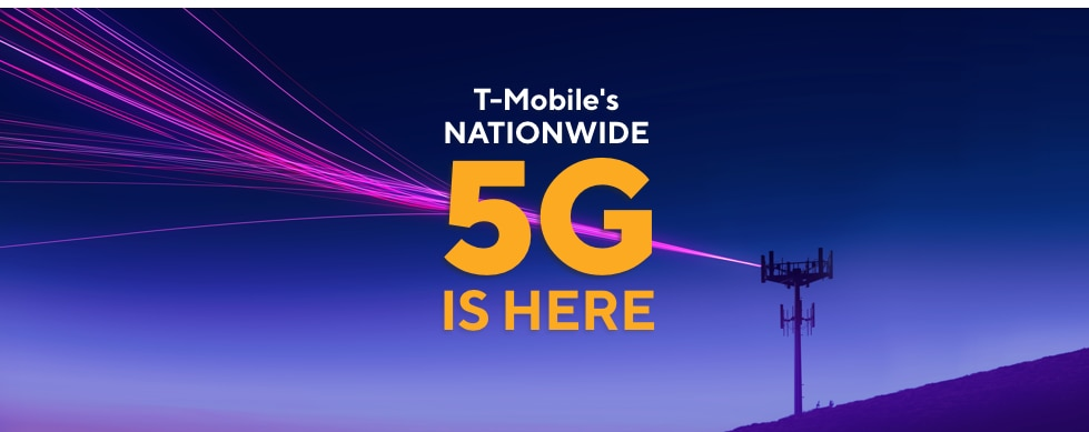 T-Mobile's Nationwide 5G is here