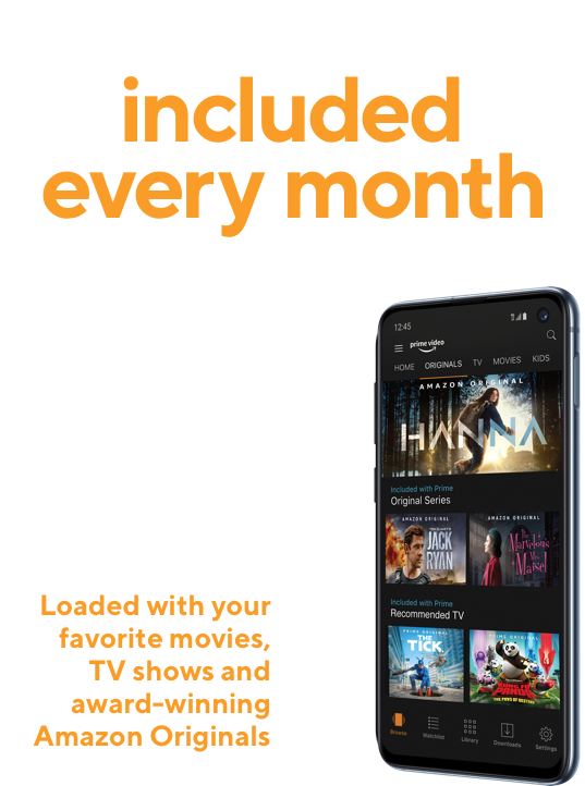 Get 4 Lines for $30/Line, includes Amazon Prime | Metro® by