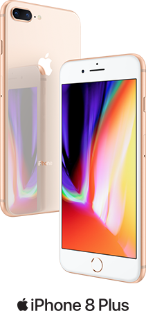 iPhone 8 Plus A beautiful mind. Introduces an all new glass design. The world's most popular camera, now even the better. The smartest, most powerful chip ever in a smartphone. Wireless charging that's truly effortless. And augmented reality experiences never before possible. iPhone 8 Plus a new generation of iPhone.