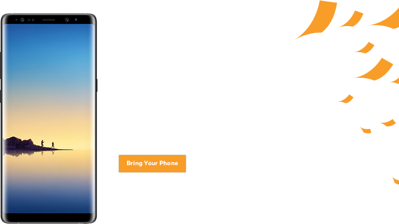 Or bring the phone you already love. You already have a phone you can't live without? Great! Keep your phone, keep your number, and lose the contract.