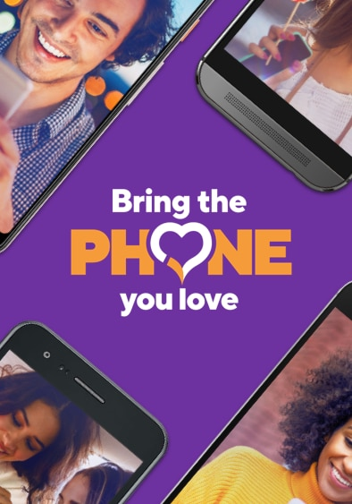 Bring the phone you love to Metro by T-Mobile