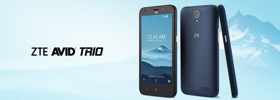 smartphone zte avid trio video calling 30-Day Trial