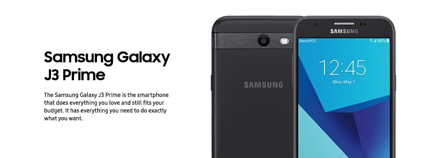 Samsung Galaxy J3 Prime Metro Pcs