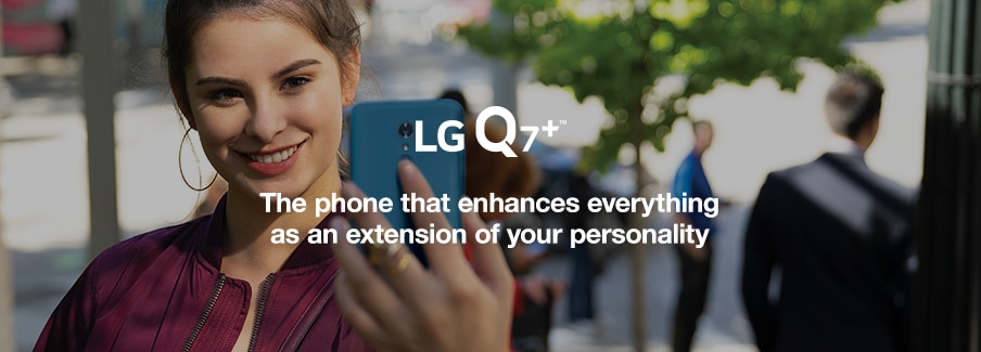 Learn about the LG Q7+