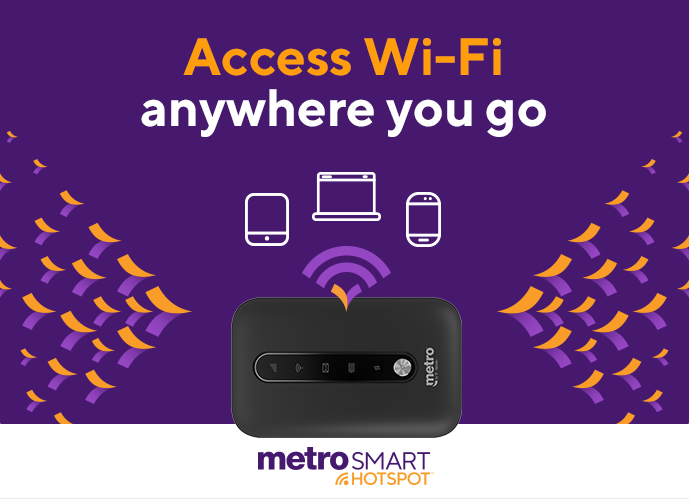 MetroSMART Hotspot™ - Wi-Fi Access on The Go | Metro® by T