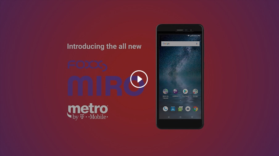 FOXXD™ MIRO™   Price, Specs & Reviews   Metro® by T-Mobile