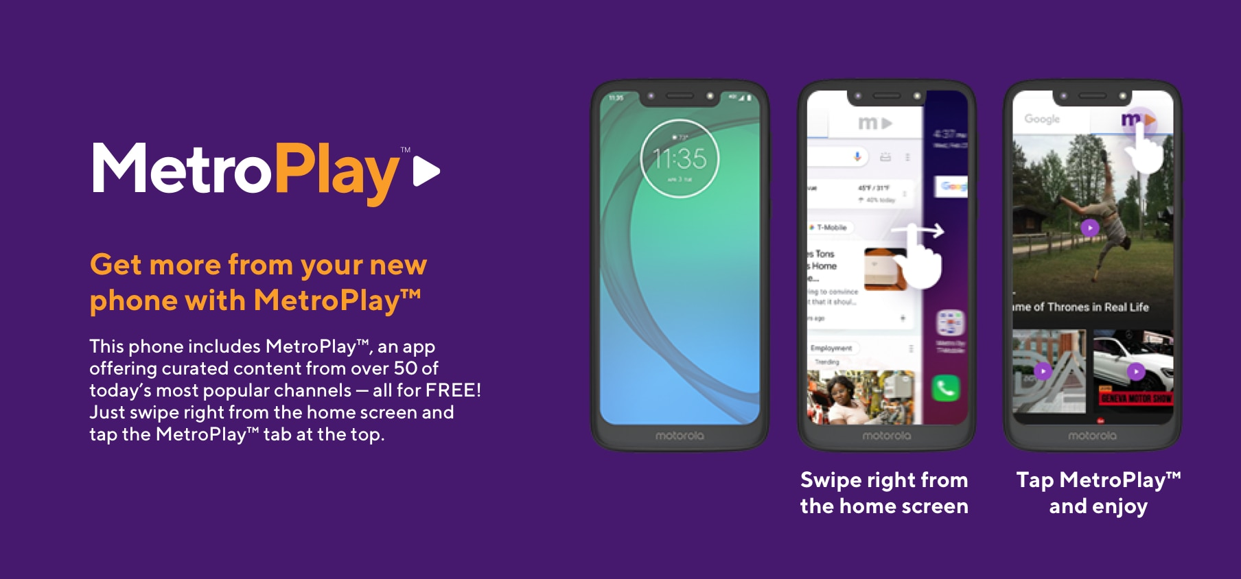 moto e5 play Smartphone - Prices, Specs and More | Metro® by
