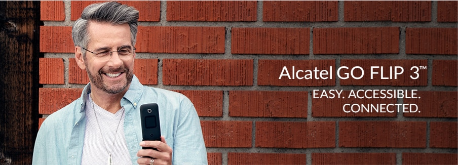 Learn about the Alcatel GO FLIP 3