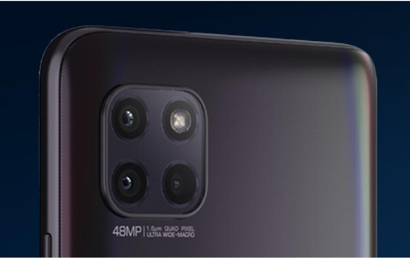 Triple cámara de48 MP con IA y sensorQuad Pixel